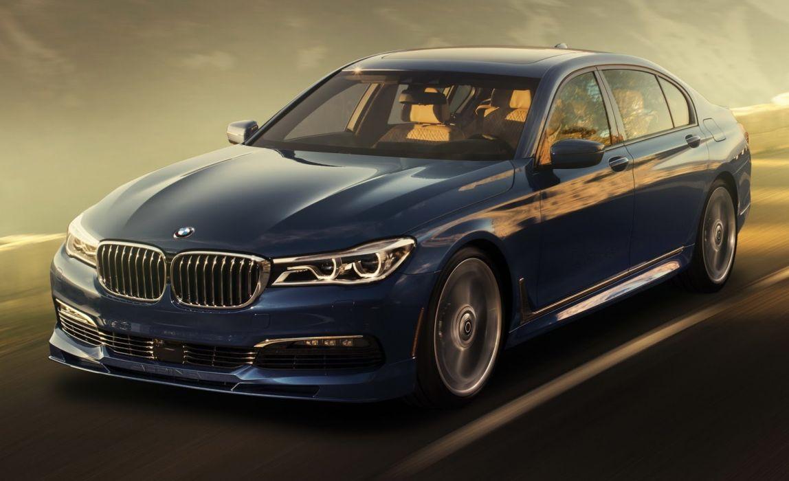 BMW Alpina B7 xDrive cars sedan blue modified wallpaper 1600x976 1148x700