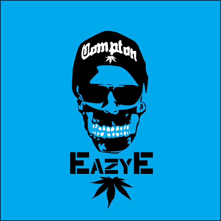 Free Download Eazy E Compton Skull By Seanjj 894x894 For