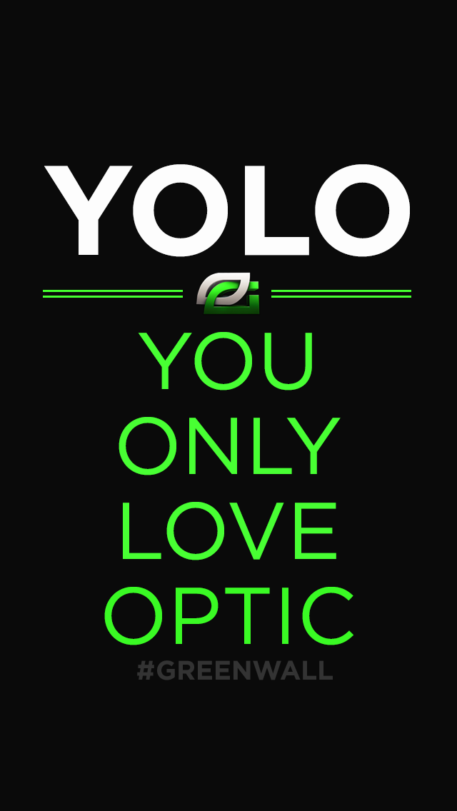 Free Download Yolo You Only Love Optic Iphone Wallpaper Download