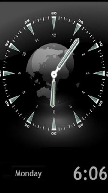 Download free mobile phone wallpaper animated clock 1413.