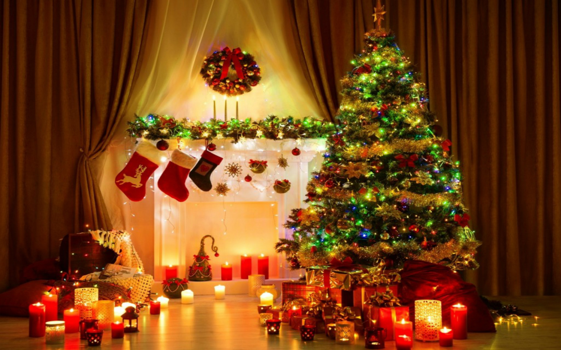 Christmas Tree Wallpaper Backgrounds 61 images 1920x1200