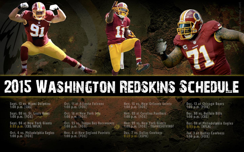 2015 Redskins Schedule WallpaperWednesday Hog Blogs 1440x900