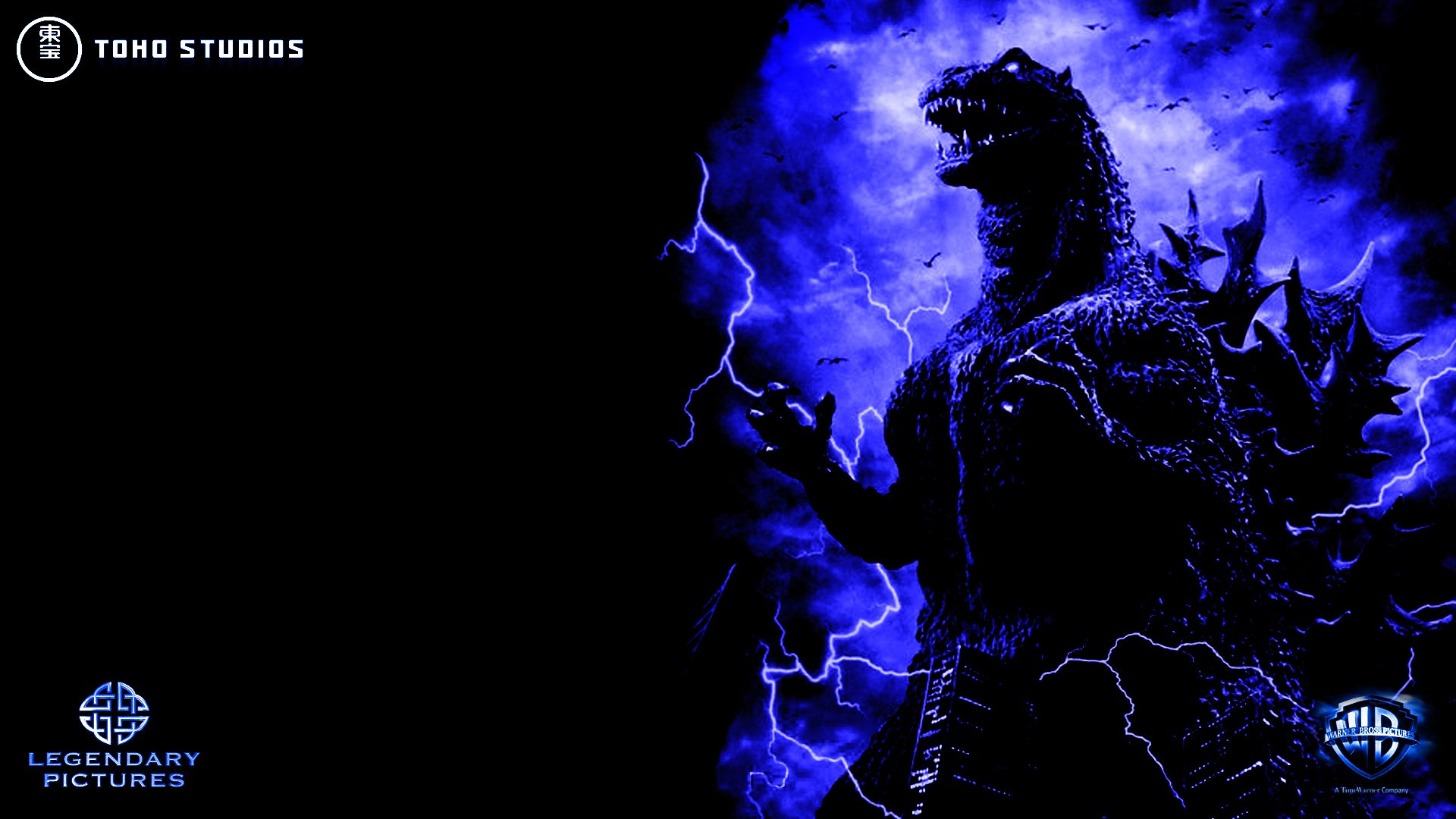 Legendary Pictures Godzilla by SeanSumagaysay 1920x1080