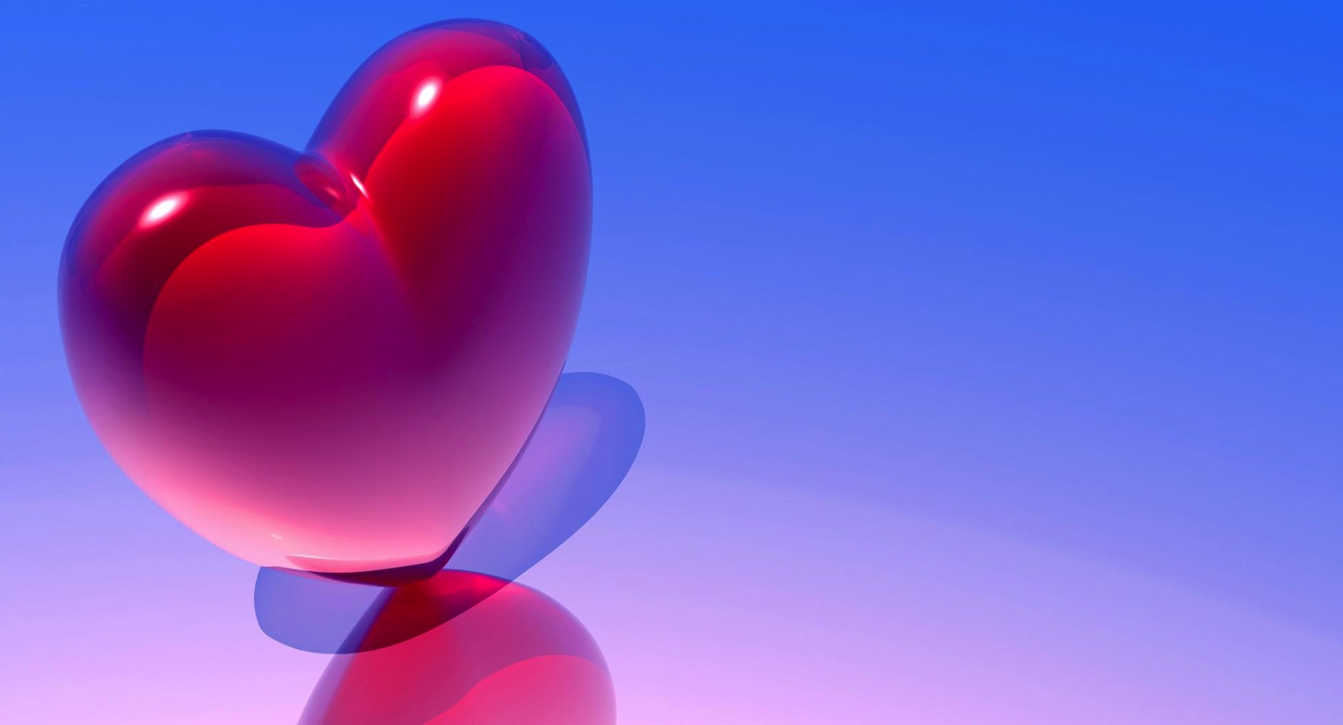 3d Heart Love Wallpapers 4852 Wallpaper: Rainbow Heart Wallpaper