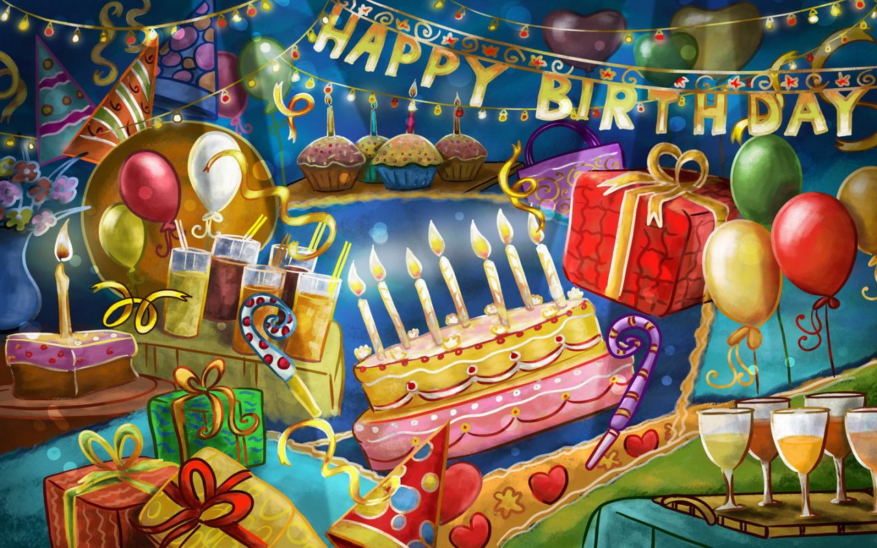 wallpapers collections cake wallpapers birthday wallpapers birthday 1280x800
