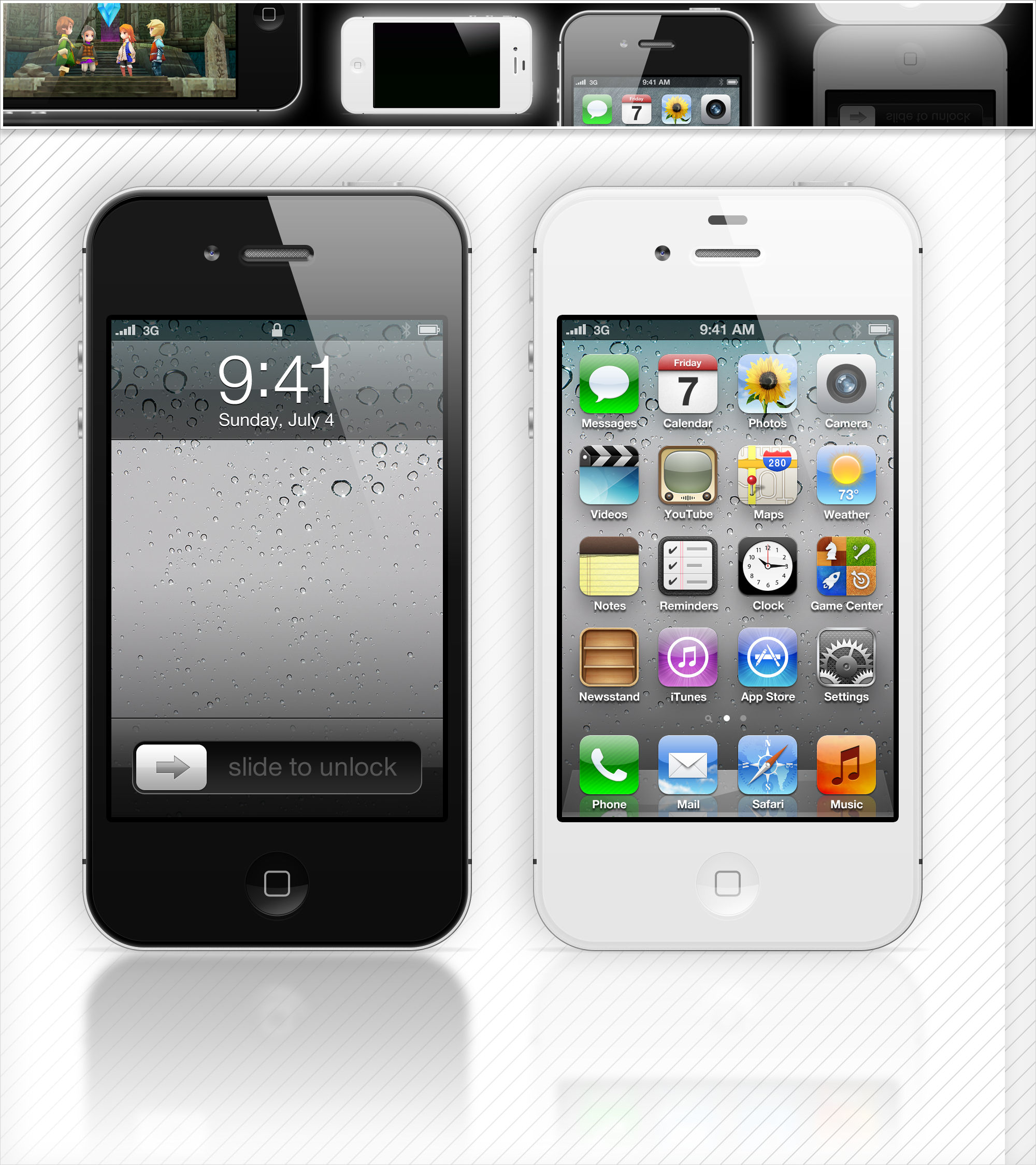 iPhone 4S PSD by iEatSoxLikeAnimal 2000x2250