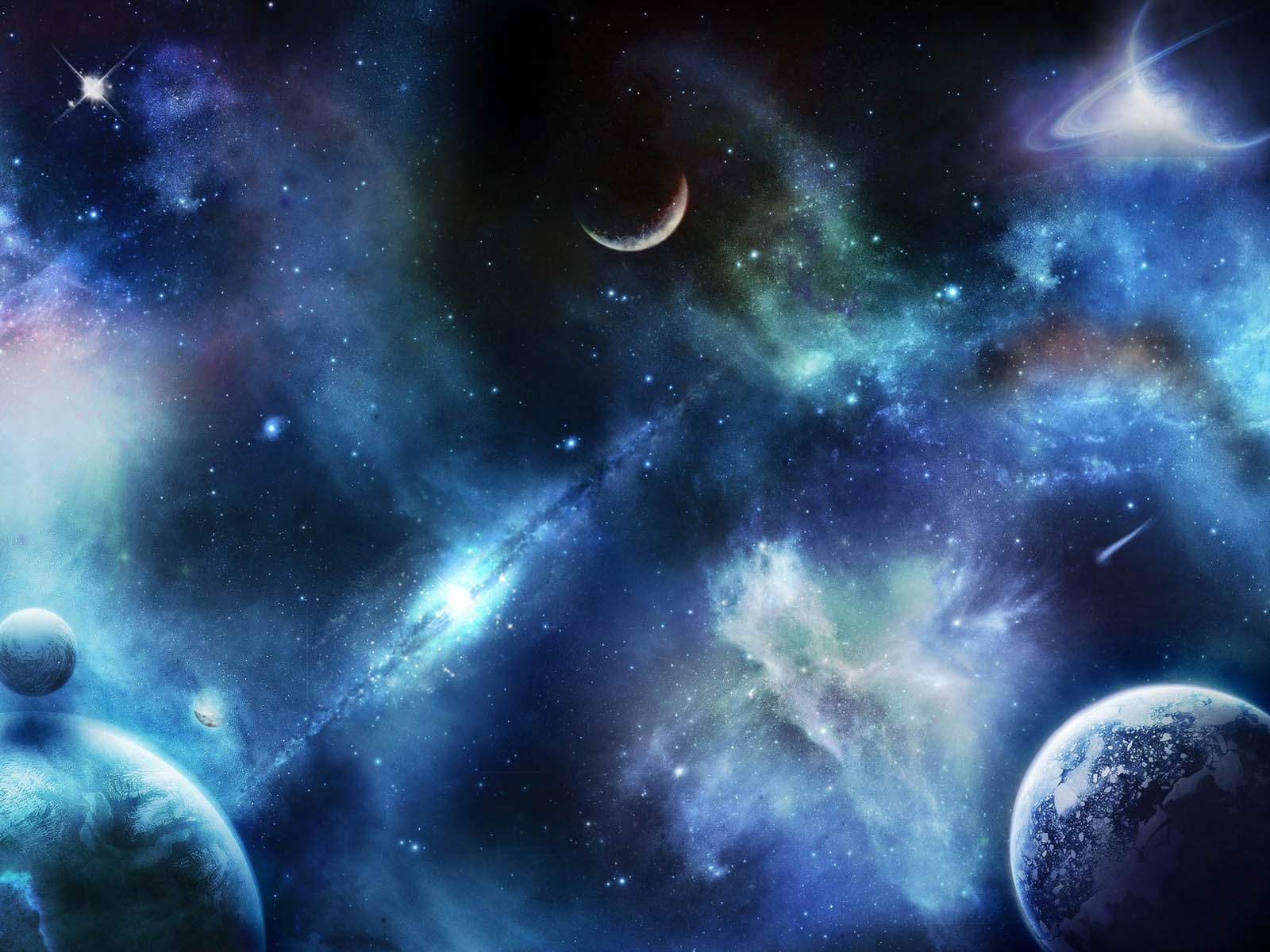 50] 3D Outer Space Wallpaper on WallpaperSafari 1600x1200