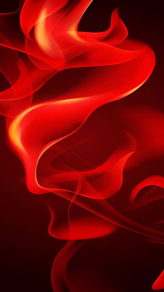 Red Flame Wallpaper   iPhone Wallpapers 640x1136