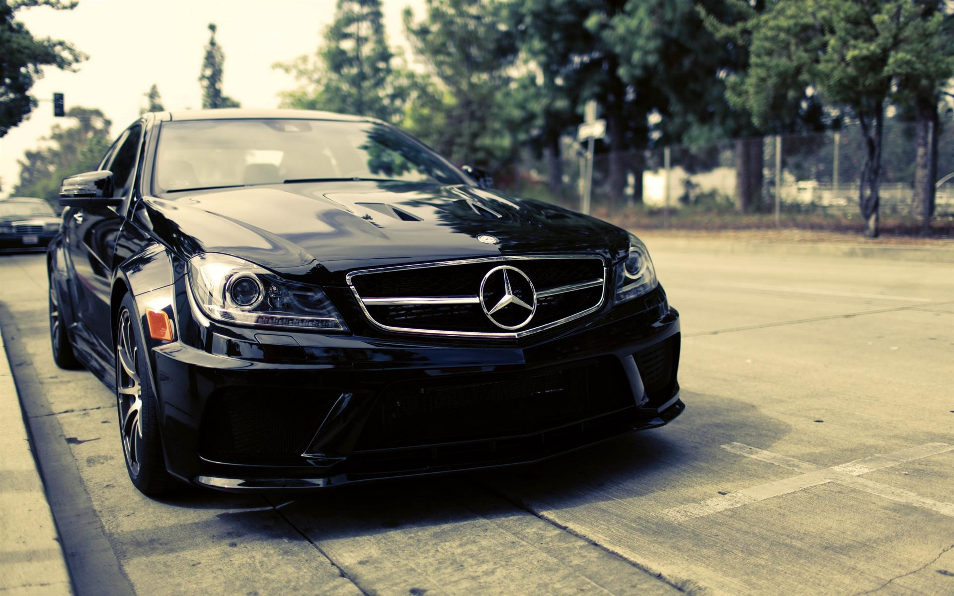 mercedes benz black wallpapers wallpaper desktop 1920x1200 1920x1200