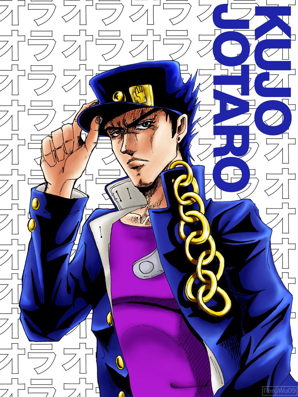 Kujo Jotaro by RenjiWu09 1024x1366