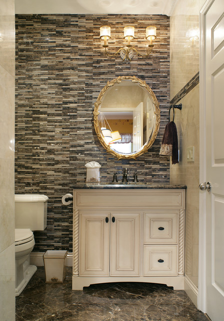 Small Powder Room   Traditional   Powder Room   other metro   by 448x640