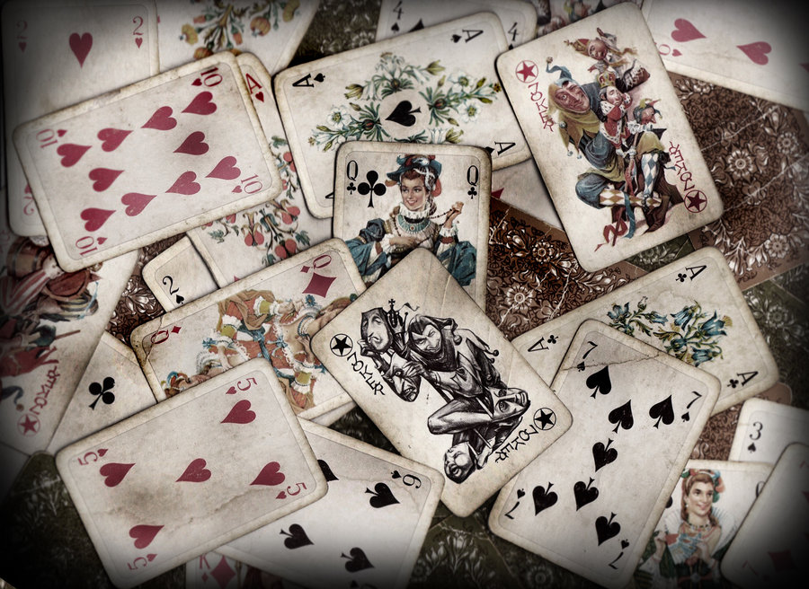 Cool Playing Cards Wallpaper Playing cards background by 900x656
