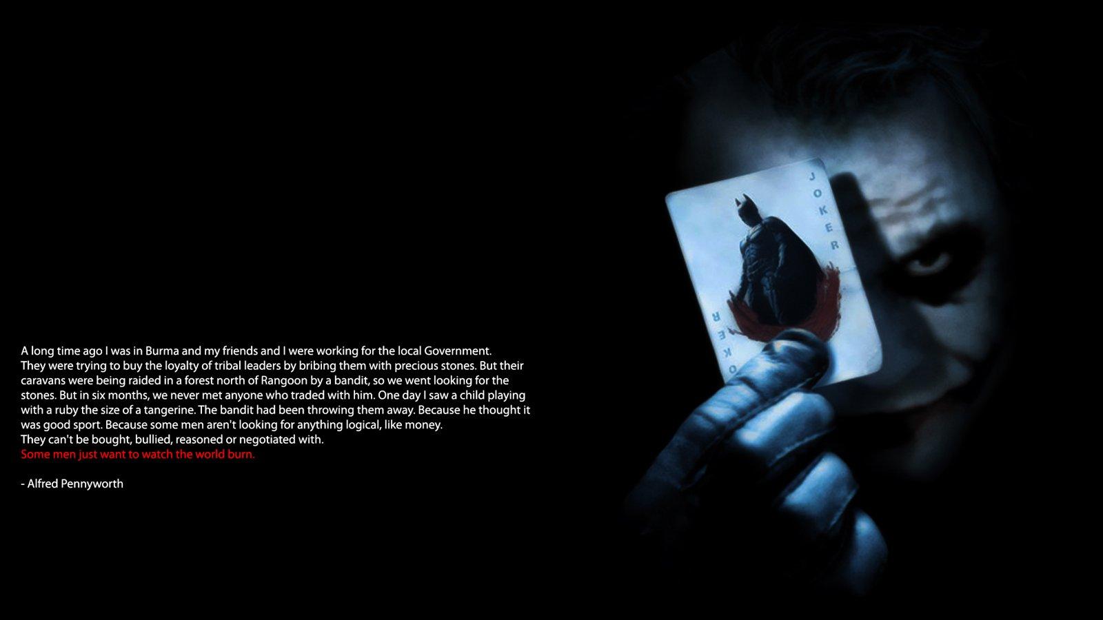 45 Joker Quotes Wallpapers On Wallpapersafari