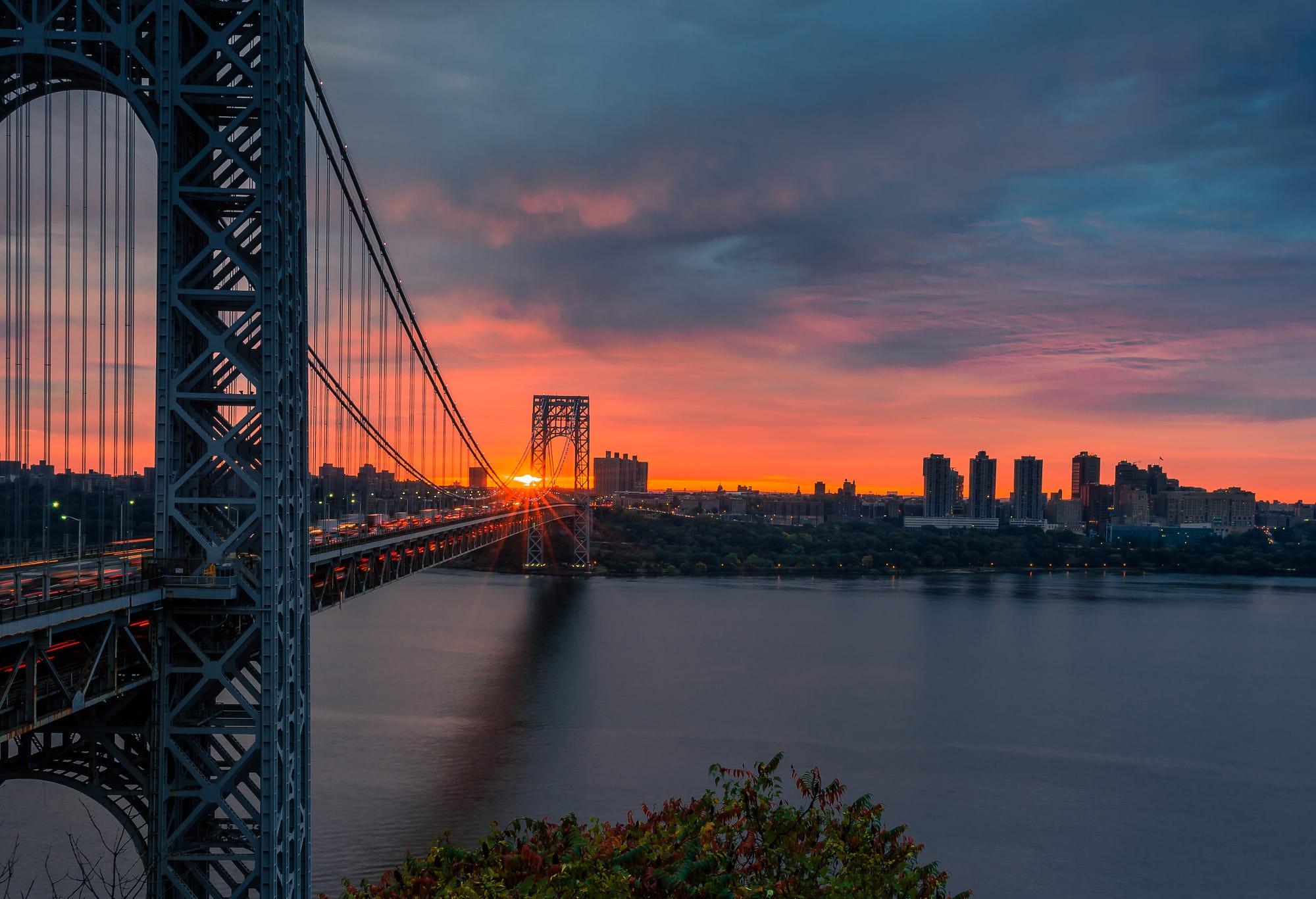 7 George Washington Bridge HD Wallpapers Background Images 2000x1367
