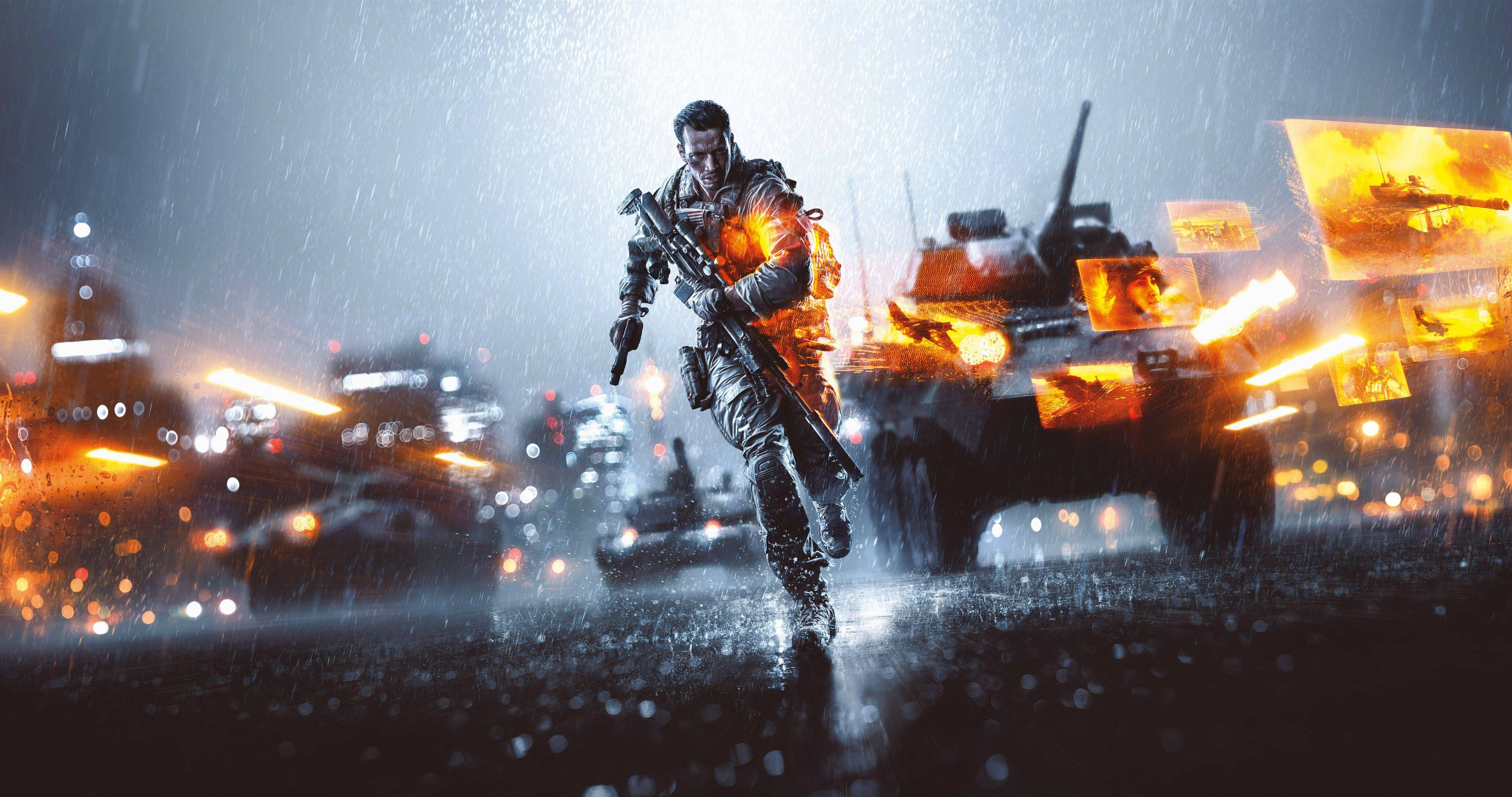 Official Battlefield 4 wallpaper in stunning 5K resolution 3840x2025