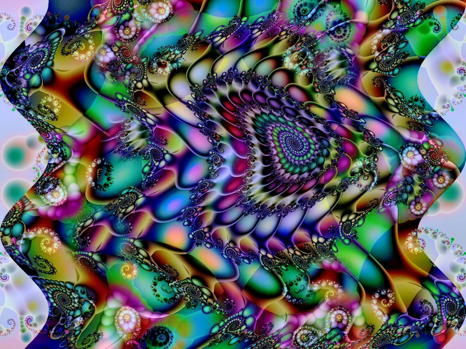 Artistic Psychedelic Trippy Mind Teaser Mindteaser Abstract Wallpaper 1600x1200