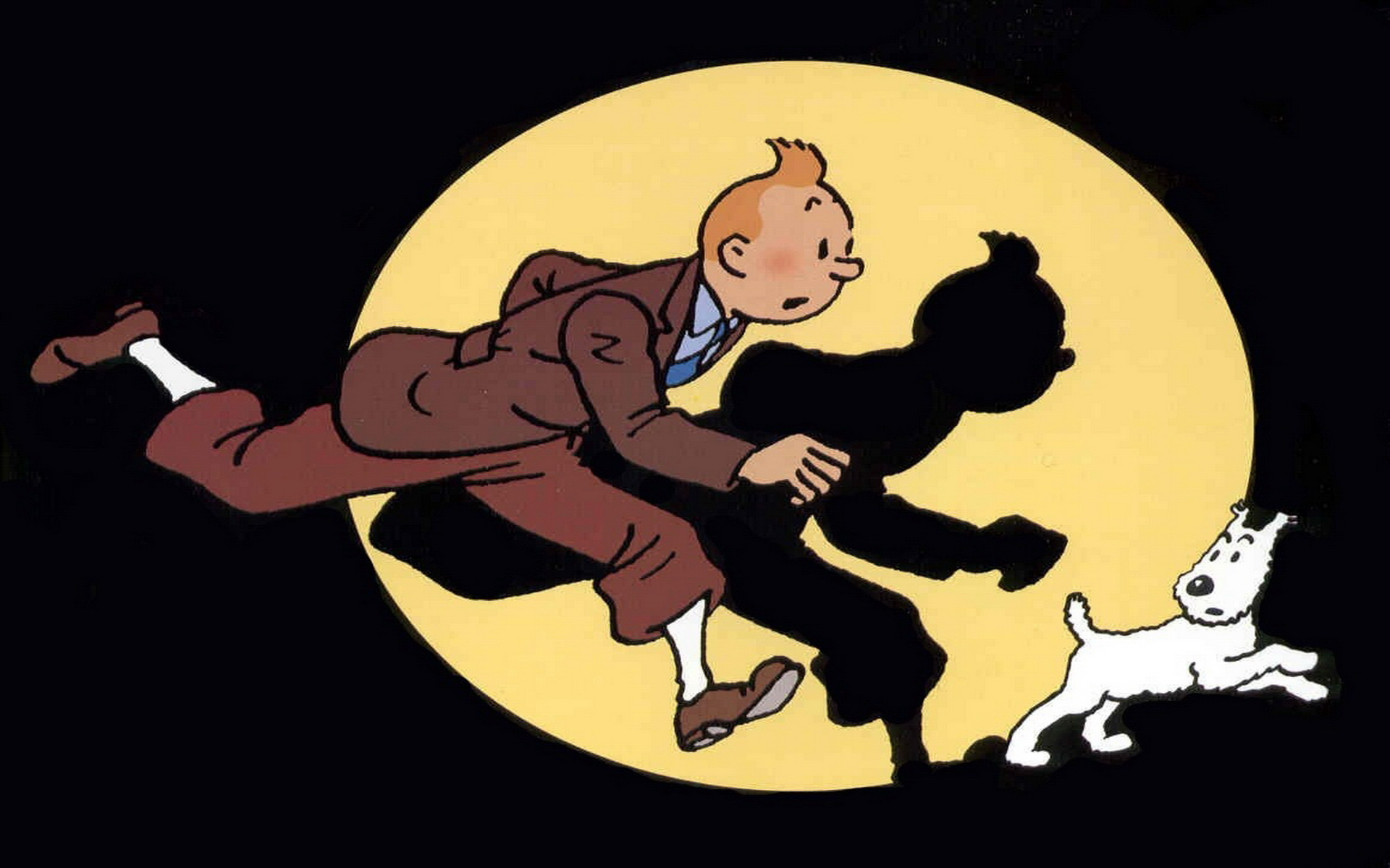 tintin and snowy wallpaper - photo #11