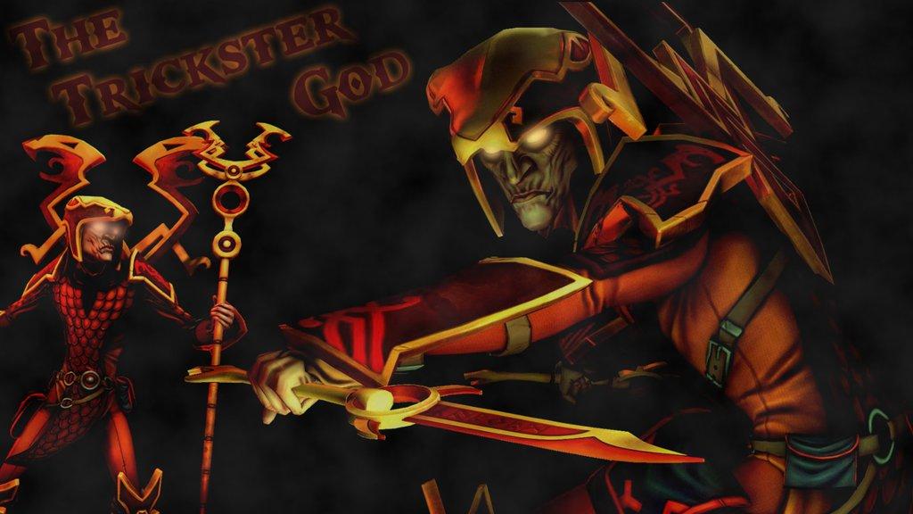 the trickster god   smite loki wallpaper by frozonfire d6n71qvjpg 1024x576