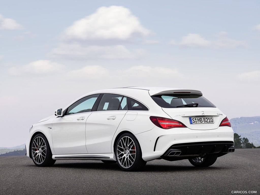 2017 Mercedes AMG CLA 45 Shooting Brake Wallpaper Shooting brake 1024x768