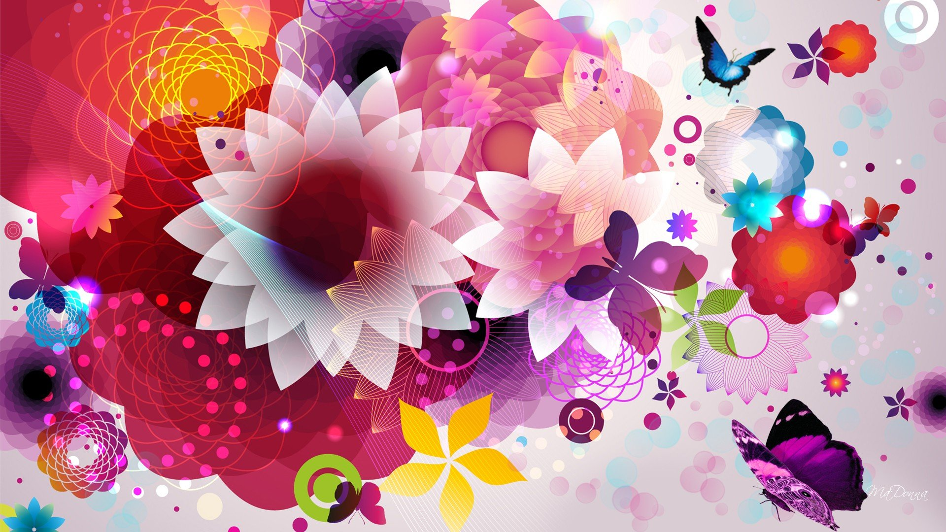 flower power tv wallpaper - photo #11