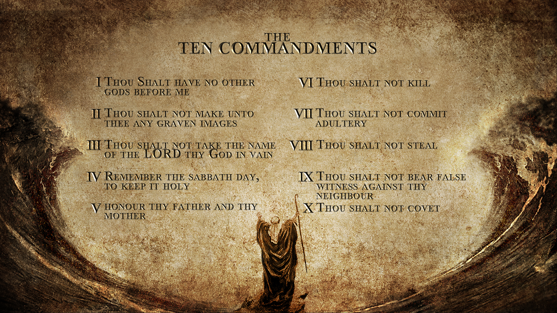 commandments study wallpapers wallpaper computer bible design 1920x1080