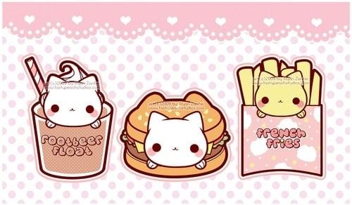 Kawaii Food Wallpaper Bear Bears Cupcakes Cute Favim
