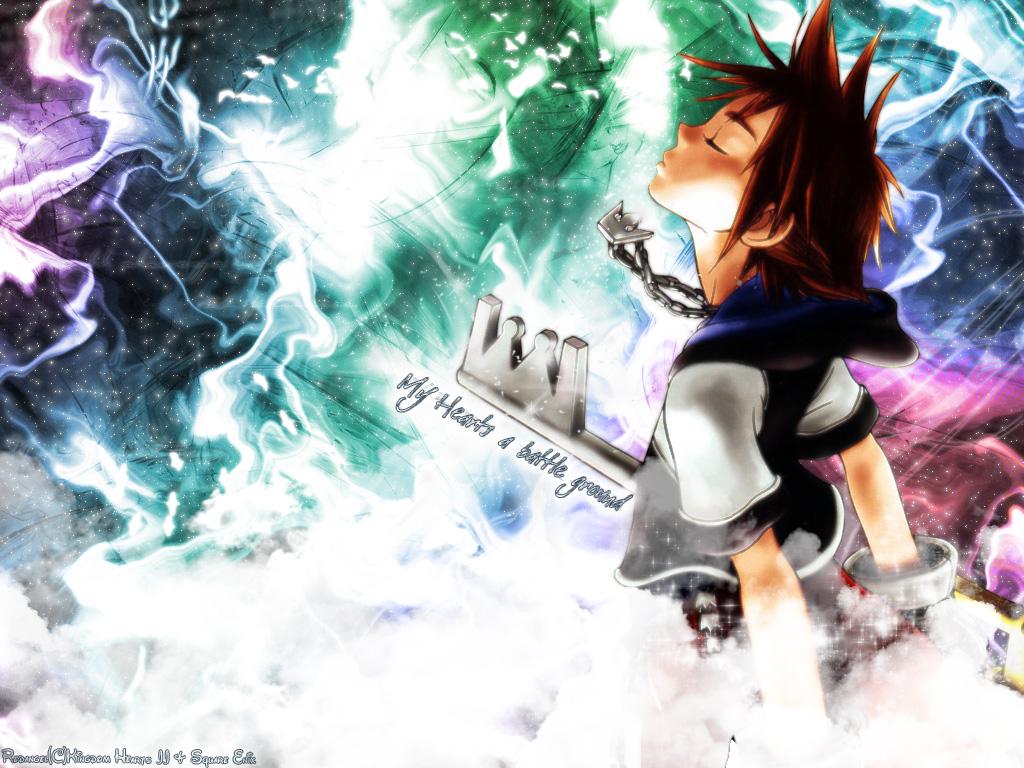 Kingdom Hearts PC Game Desktop Background 04 1024x768
