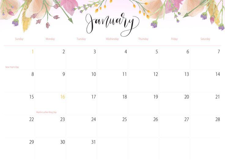 90 best images about Calendar 2015 2018 736x535