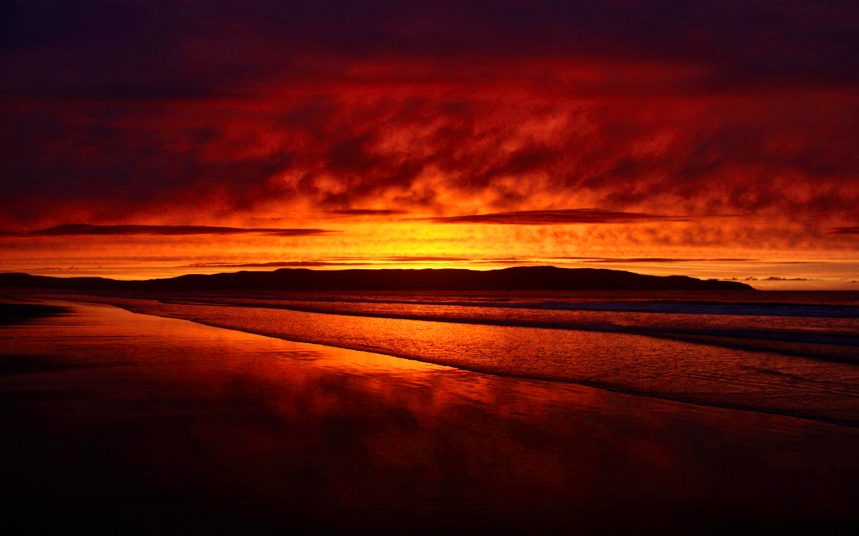 Sunset Wallpaper Desktop 2880x1800
