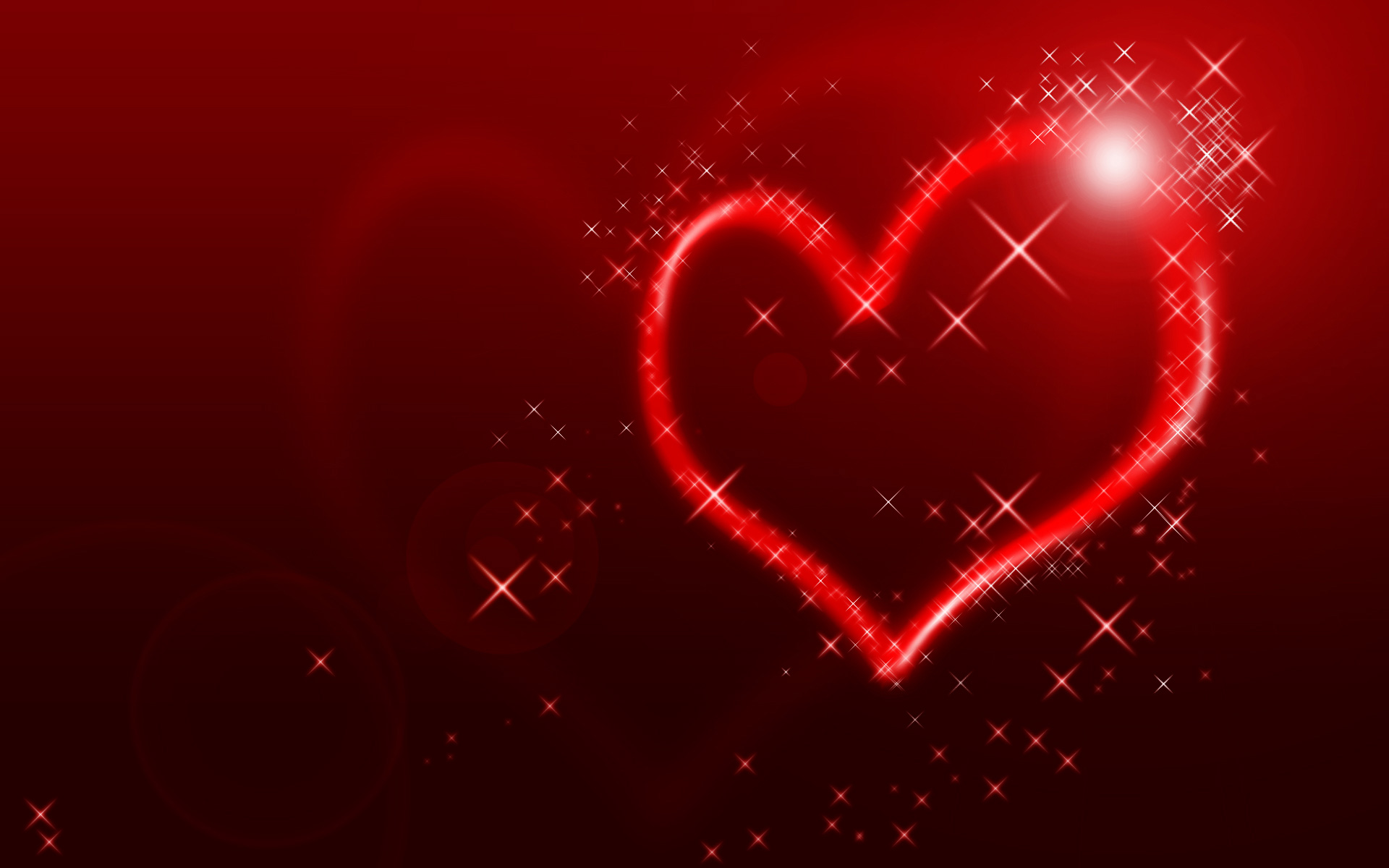 abstract valentine background with heartsjpghearts 1920x1200