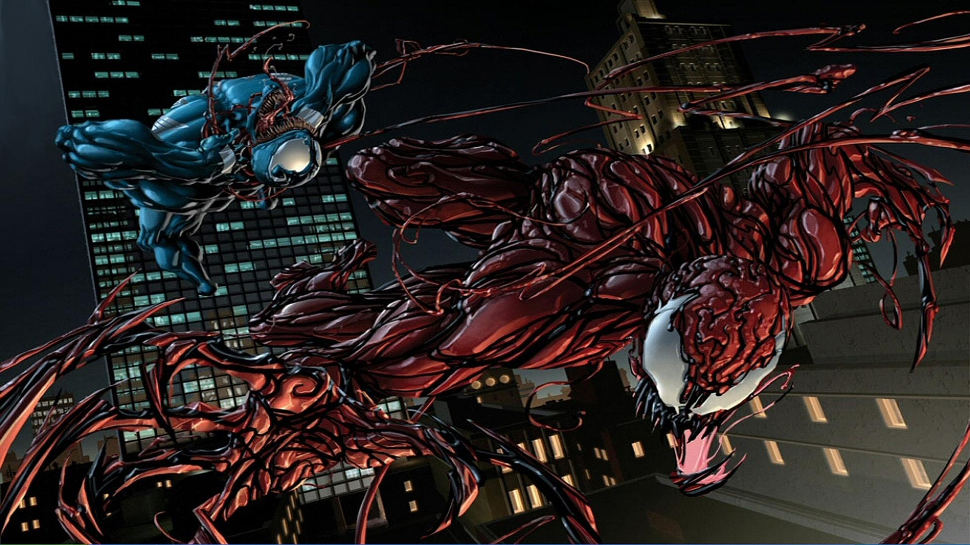 Venom vs Carnage vs Spiderman