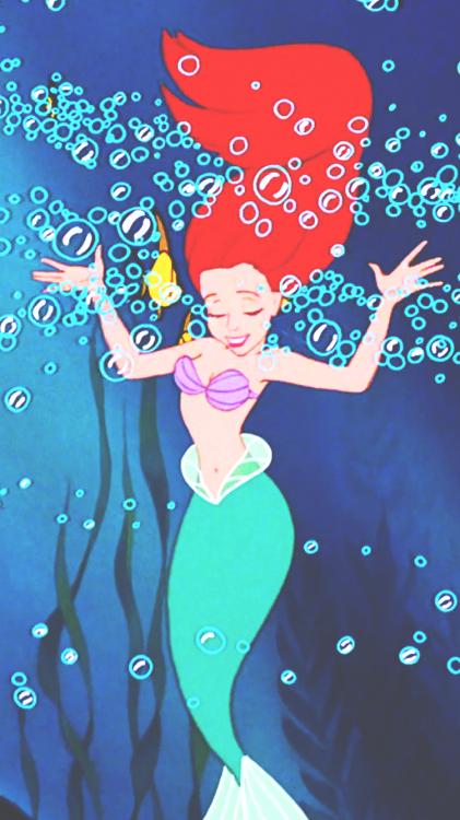 Little Mermaid iPhone Wallpapers  WallpaperSafari