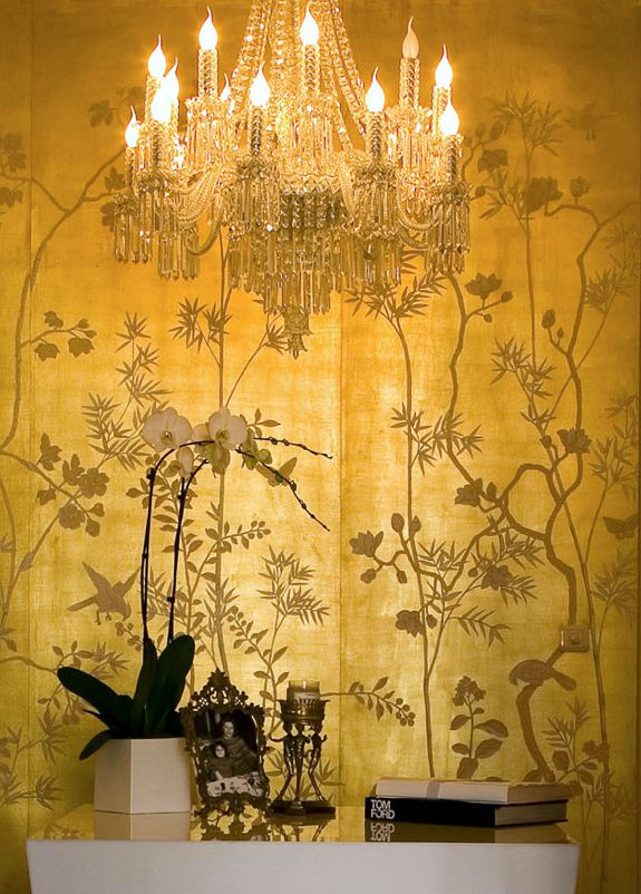 De Gournay Wallpaper For the Home Pinterest 575x802