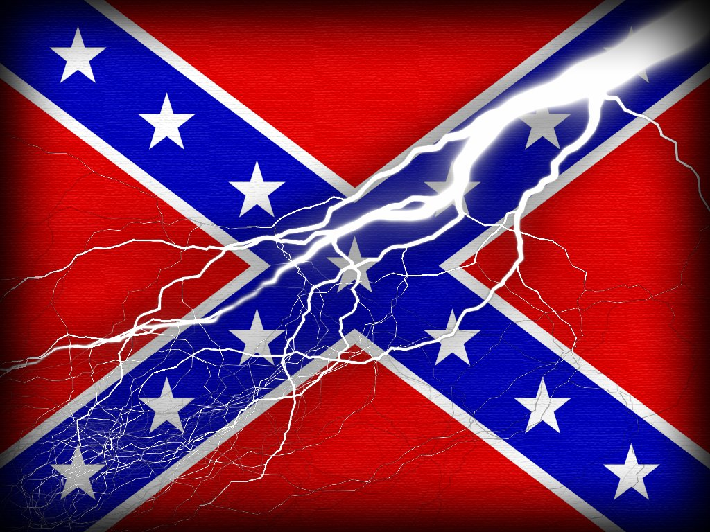Kabel Data Ilang Rebel Flag Backgrounds 1024x768
