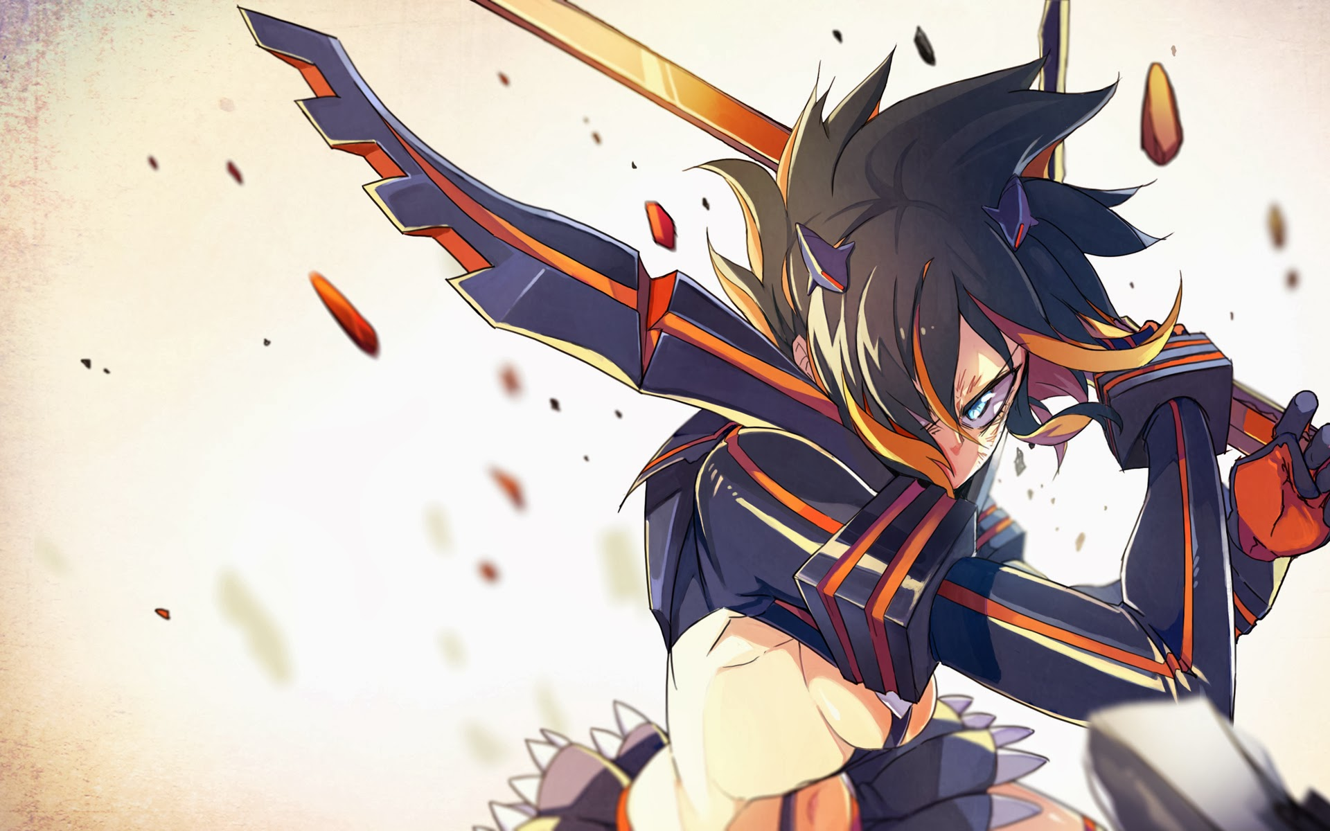 matoi ryuko kill la kill anime girl image hd wallpaper 1920x1080 40 1920x1200