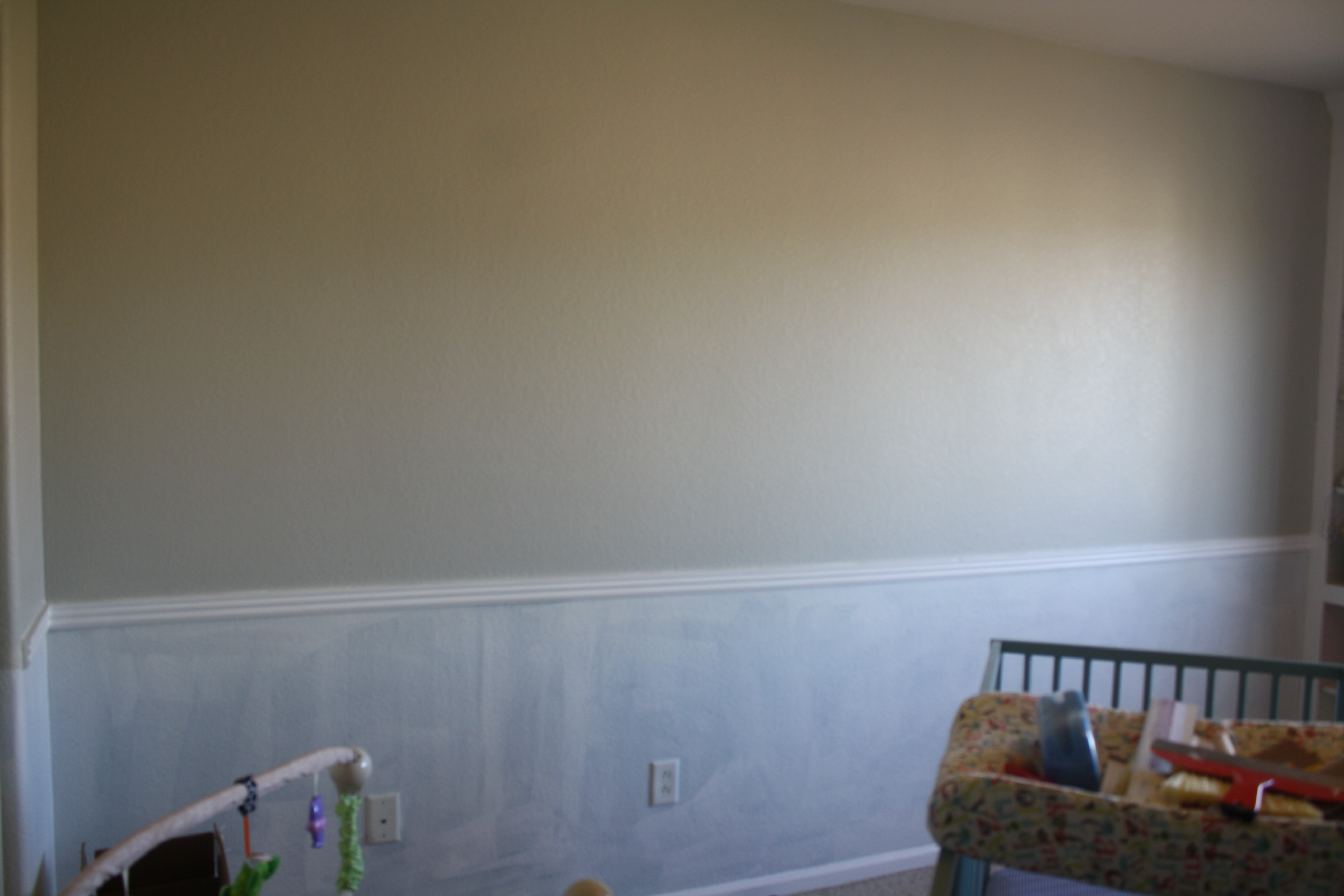 Allen Roth Paintable Beadboard Textured Wallpaper At Lowes 640x426 View 0 Painted And Primed Please Excuse The Terrible Lighting That Makes 3888x2592