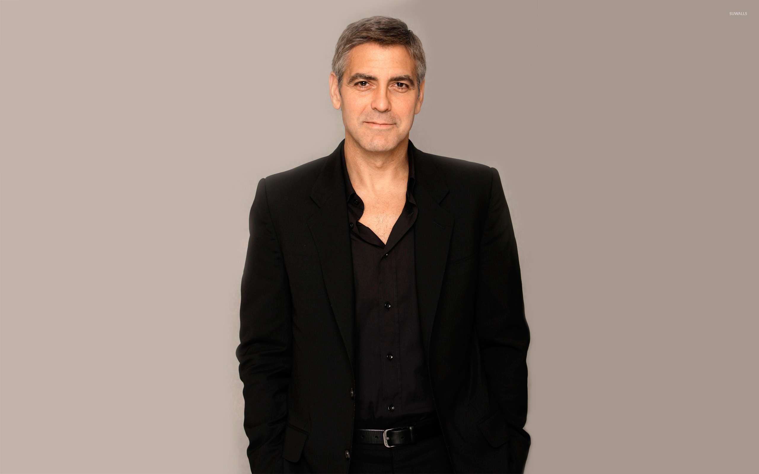 George Clooney [2] wallpaper   Male celebrity wallpapers   7335 2560x1600