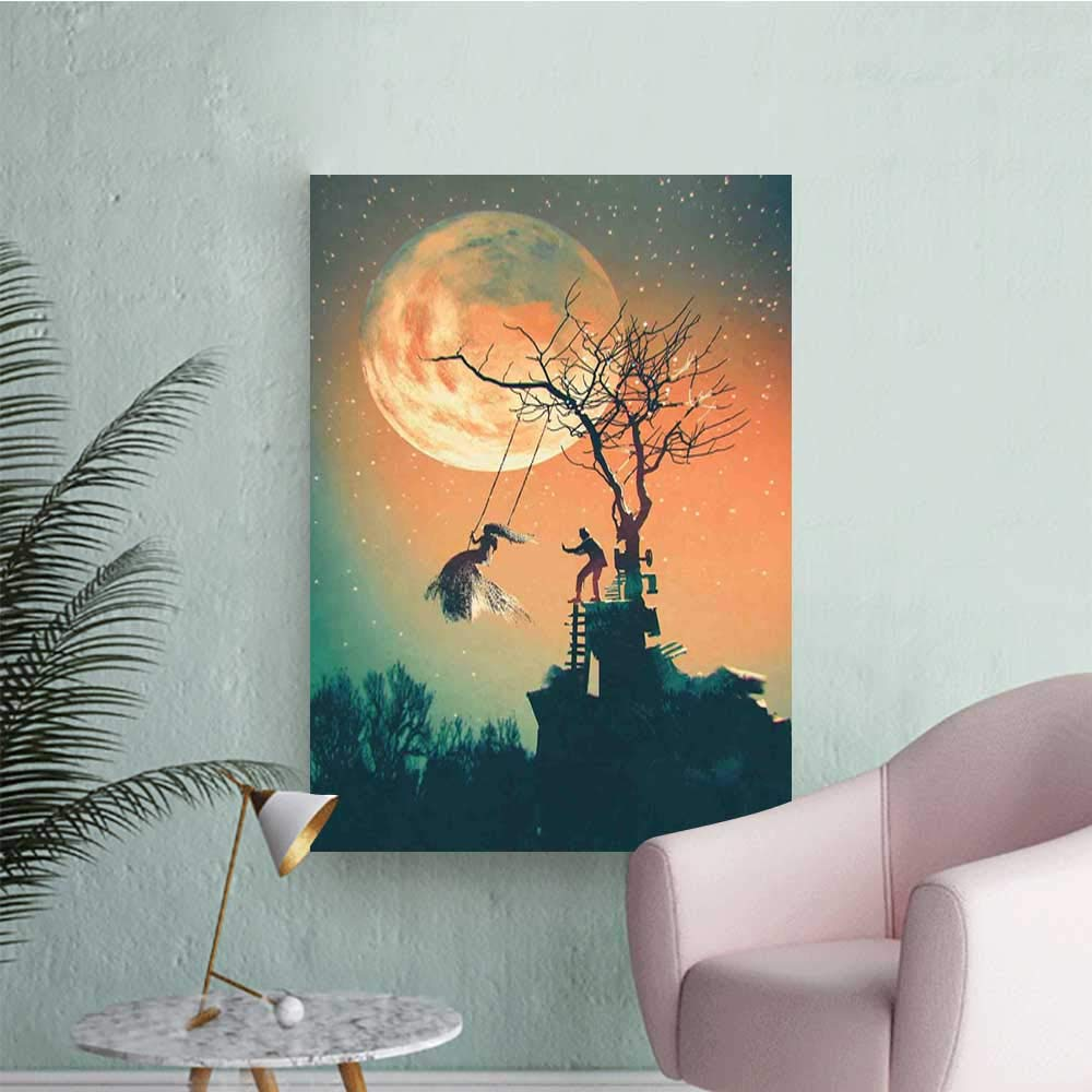 Amazoncom Fantasy World Wall Mural Wallpaper Stickers Spooky 1000x1000