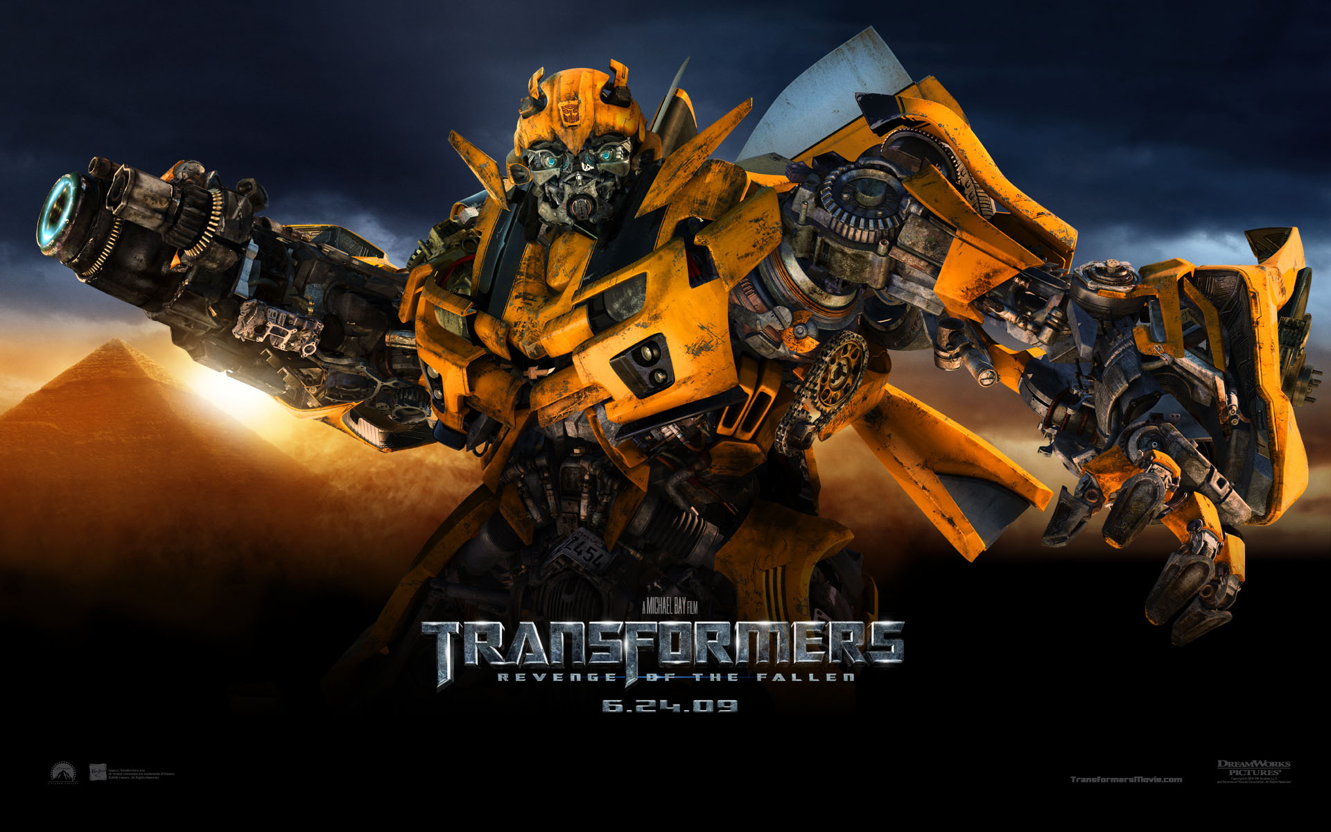 Bumble Bee from Transformers Revenge of the Fallen Movie wallpaper 1920x1200
