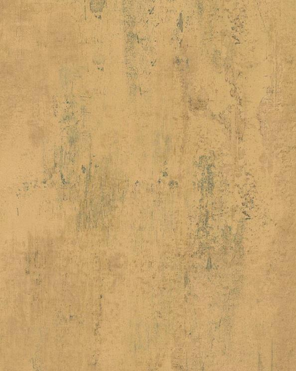 Wallpaper by The Yard Distressed Plaster Peeling Paint Tan Teal Blue 594x745