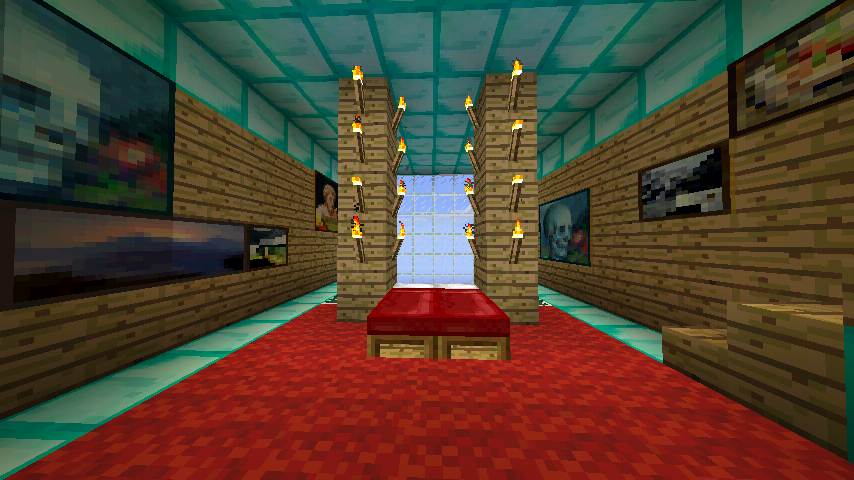 bedroom design 590x331 minecraft wallpapers confidential bedroom 854x480