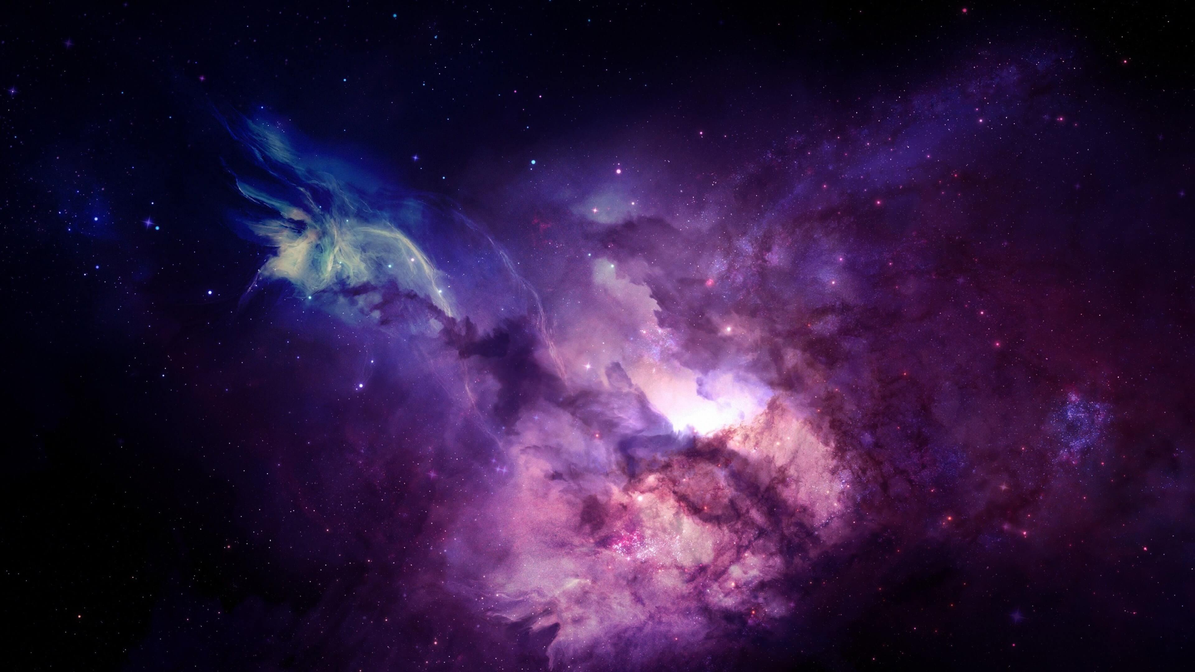 Purple Nebula HD wallpaper for 4K 3840 x 2160   HDwallpapersnet 3840x2160