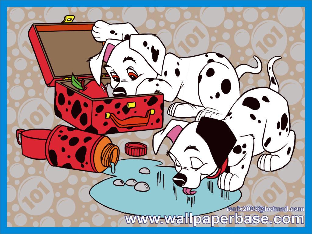 1024x768px Walt Disney 101 Dalmatians Wallpaper Wallpapersafari