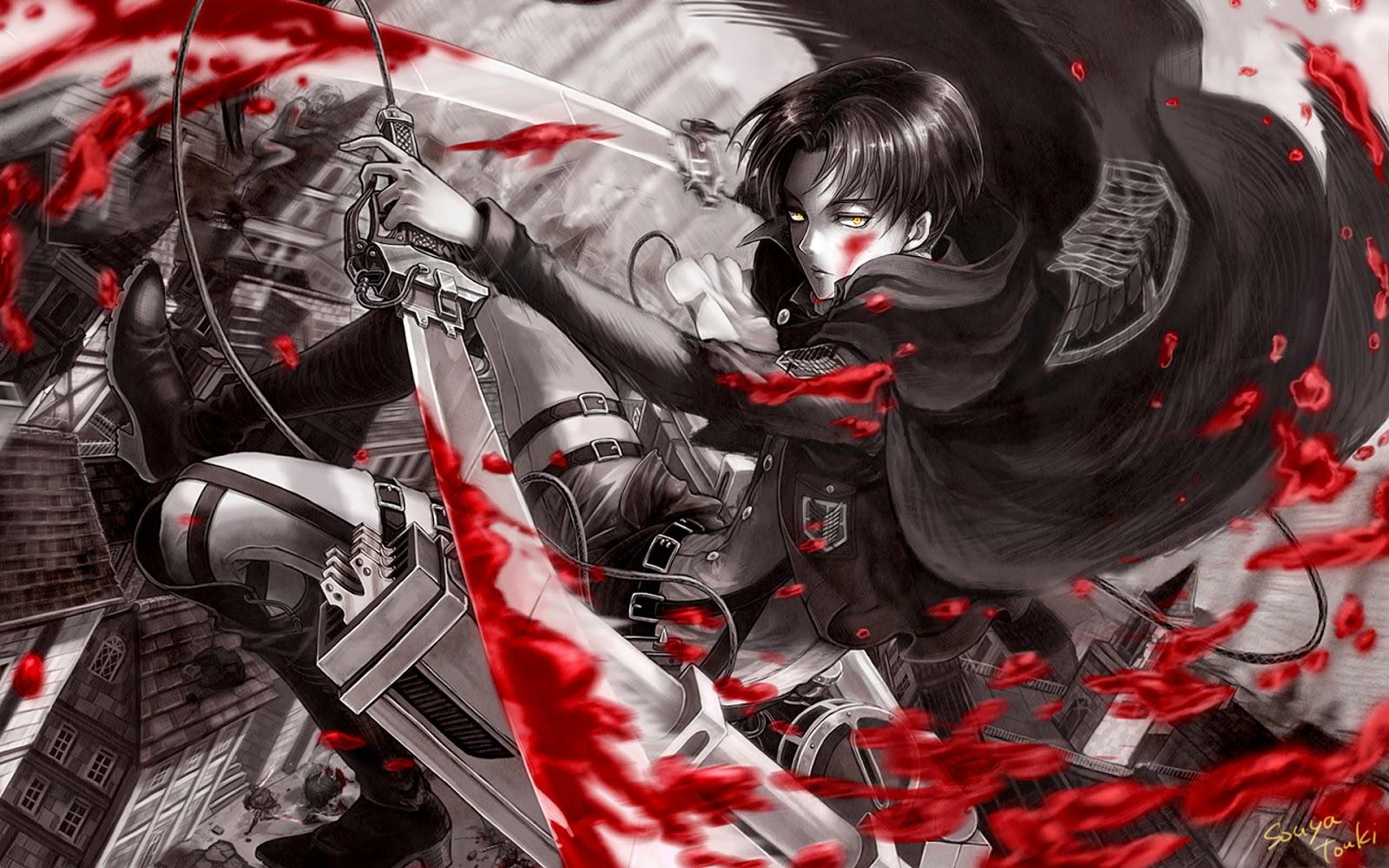 levi attack on titan picture hd wallpaper 1920x1200jpg 1600x1000