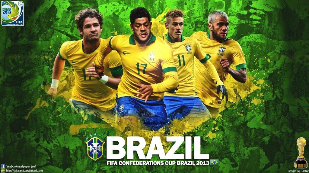 Brazil Football Wallpaper by jafarjeef 1024x576
