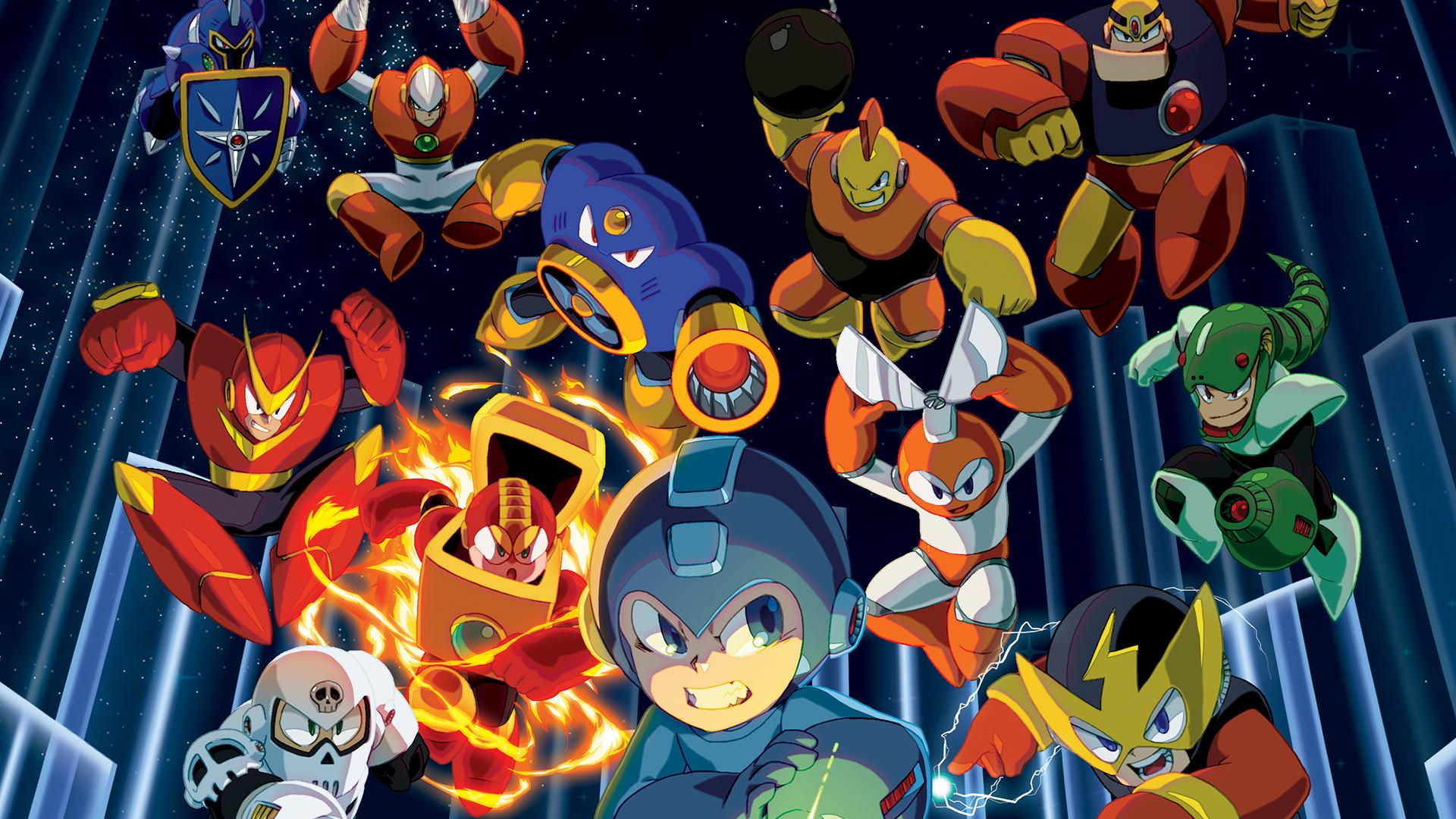 Mega Man 1 Wallpaper