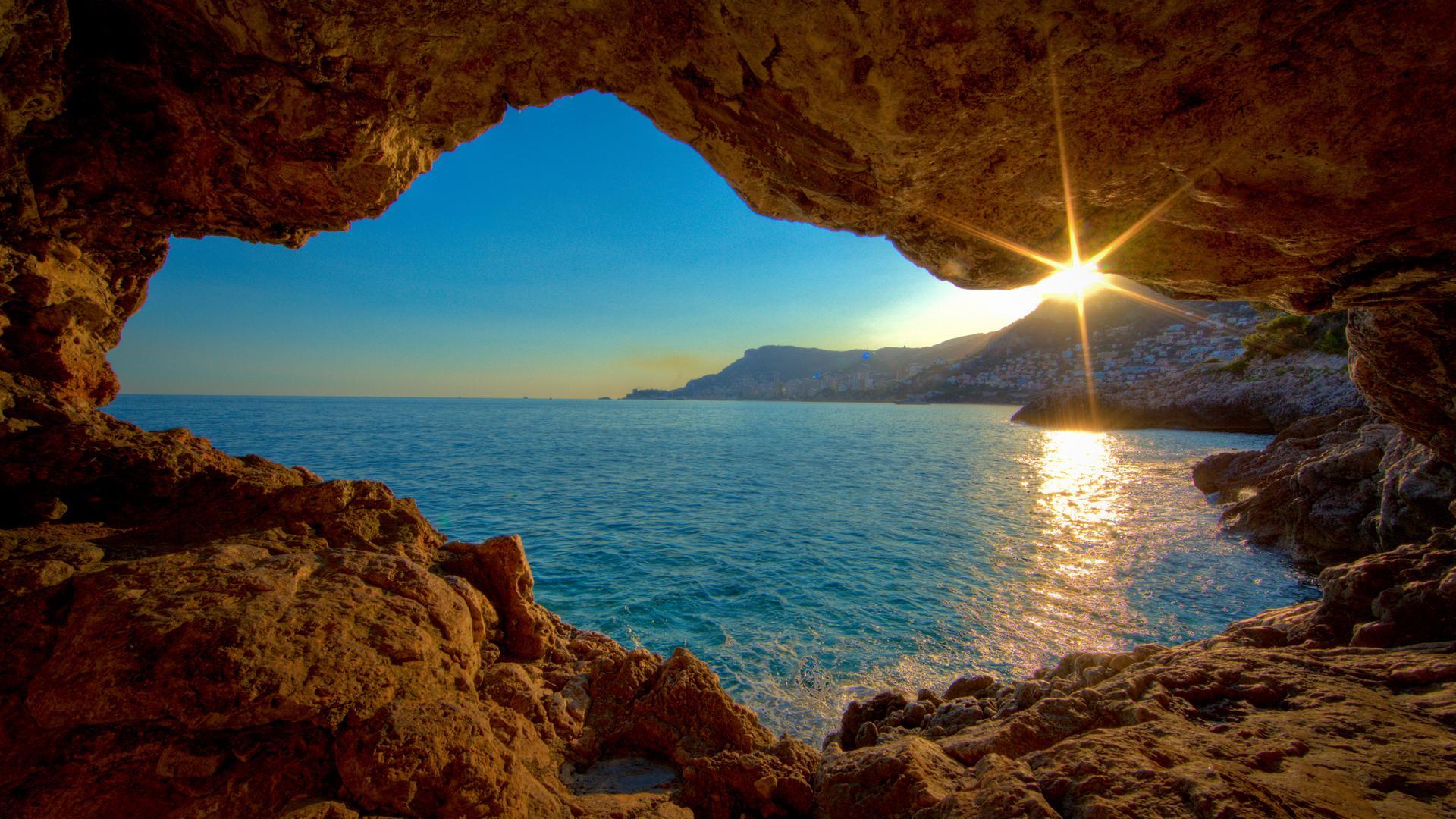 Open Cave Nature HD Wallpaper 1920x1080