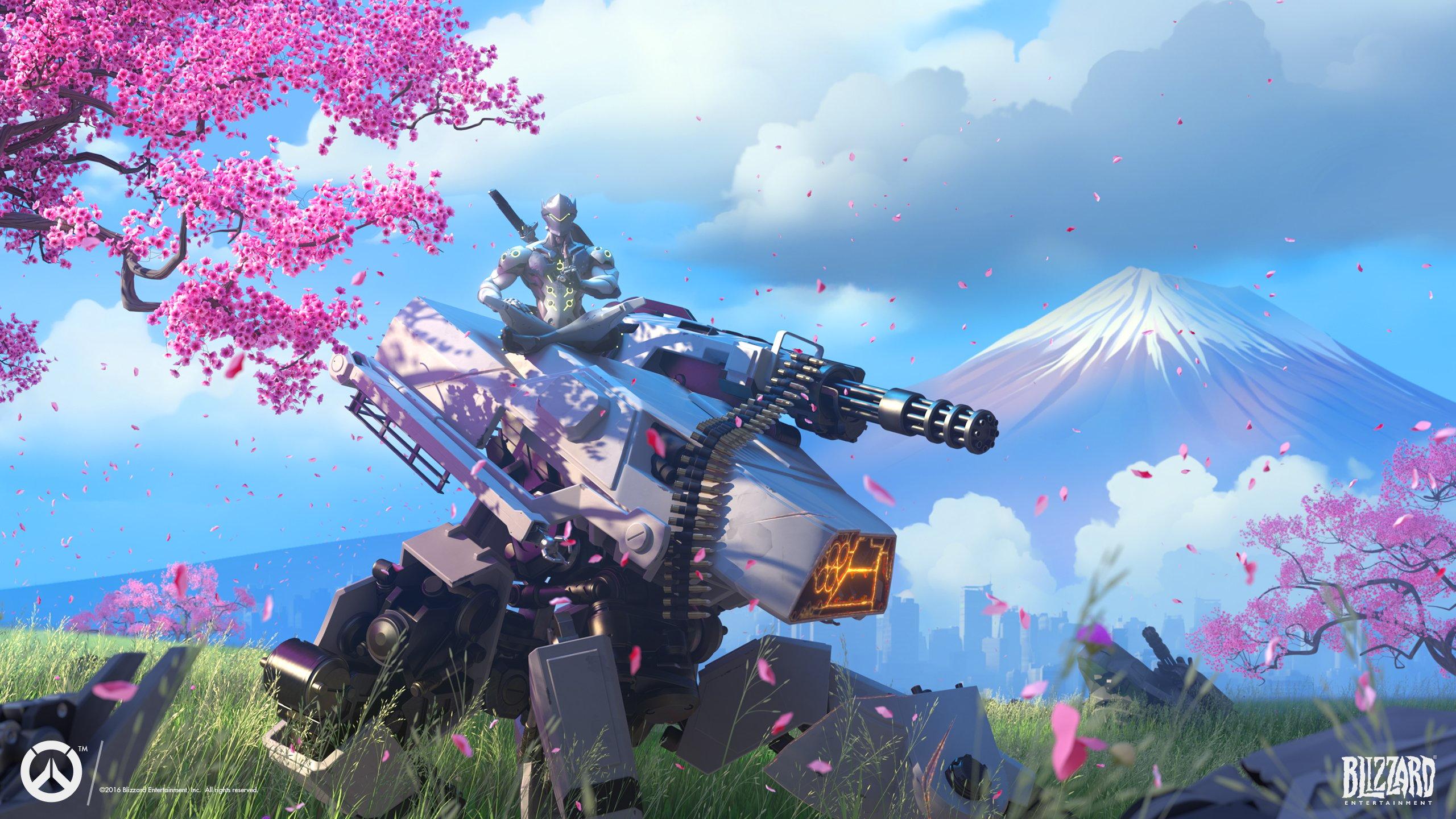 Overwatch Genji Wallpapers HD Wallpapers 2560x1440