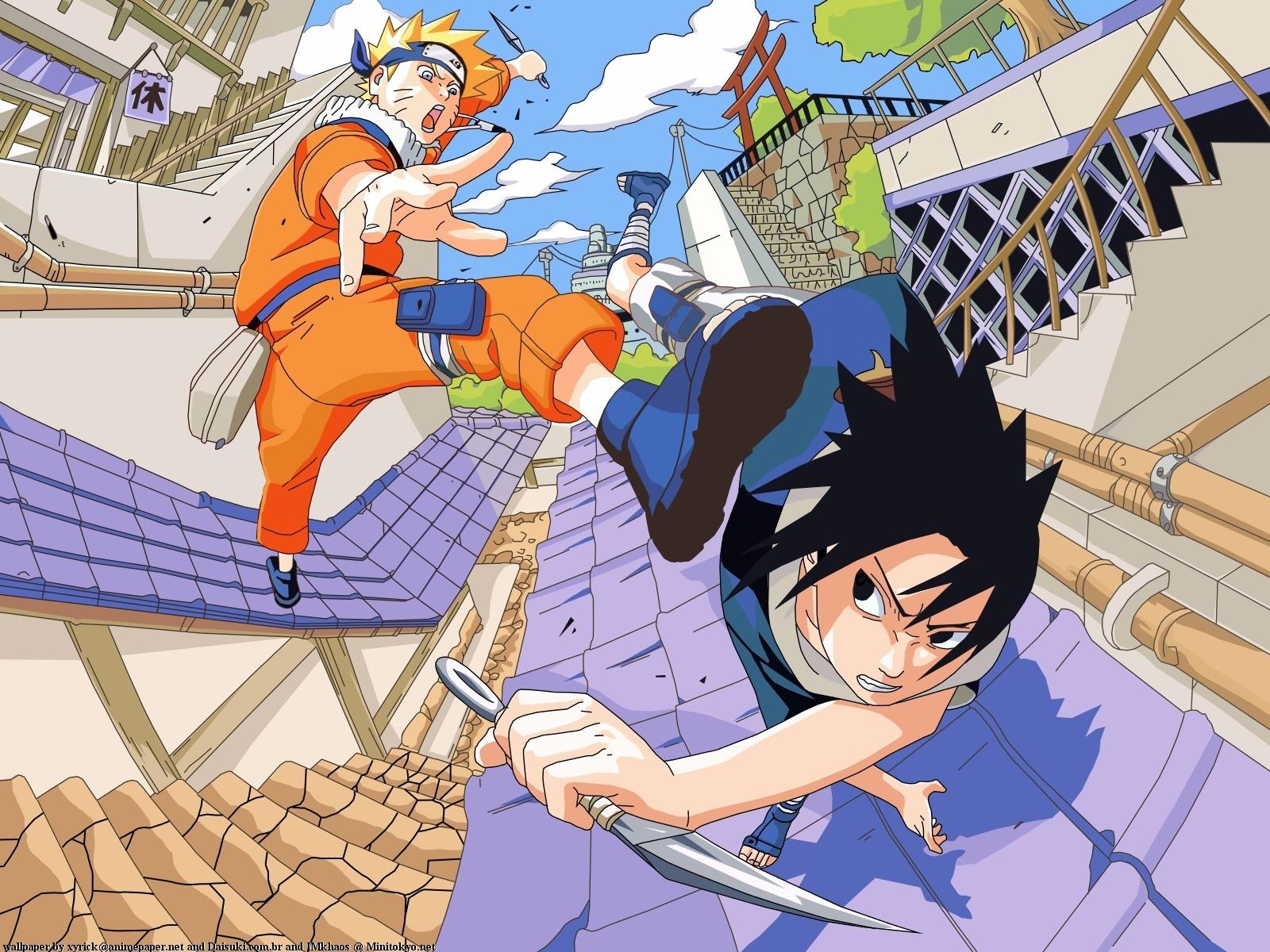 Sasuke VS Naruto - Sasuke vs naruto Wallpaper (17639781) - Fanpop
