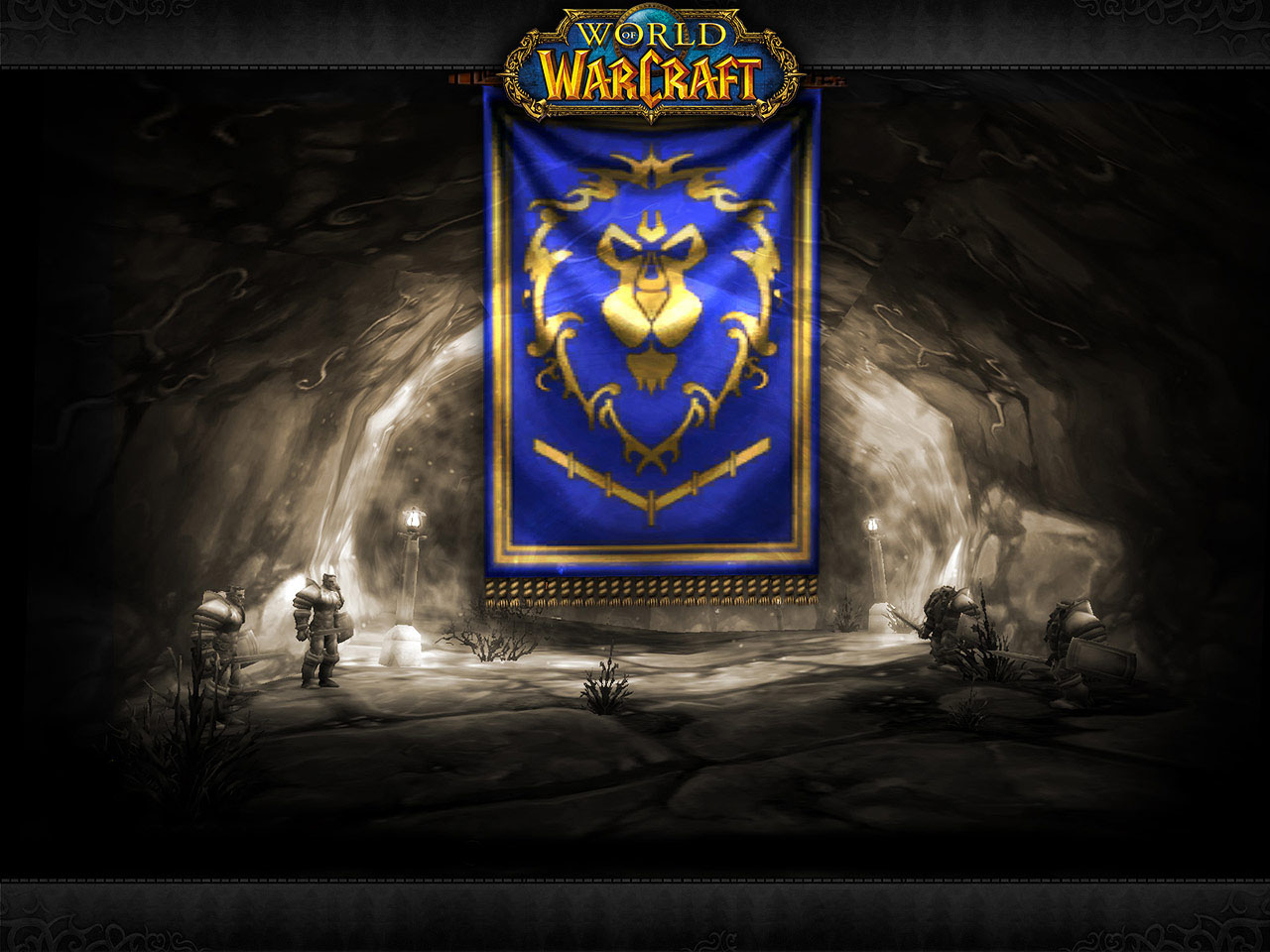Free Download Wow Vanilla Pvp Alliance Banner 1280x960